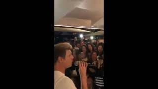 Nick Carter - Live Instagram As Long As You Love Me 03/05/18