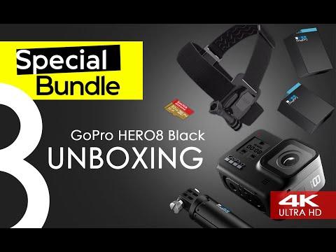 Экшн видеокамера GoPro Hero 8 Black Special Bundle CHDRB-801 черный - Видео