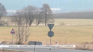 Sokolov: Zklamání z vládního rozhodnutí o průmyslových zónách (TV Západ)