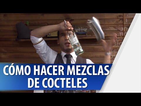 Cómo Hacer Mezclas de Cocteles