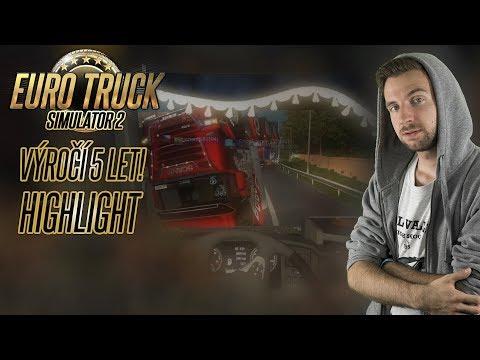 5000 KM KONVOJ ANEB 5 LET ETS2! | Stream Highlight