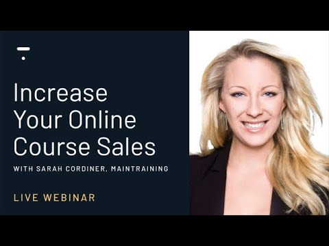 How To Increase Your Online Course Sales in 2020 - YouTube