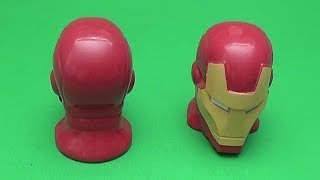 Big Mouth Academy Express!  Learn Opposites with Surprise Eggs! Marvel Avengers Ironman!