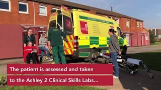 Nursing and Paramedic simulation day