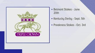 Belmont Stakes to be first Triple Crown race