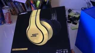 SMS Audio SMS-WD-YLW Street by 50 Cent Limited Edition Wired Over Ear Headphones - Yellow
