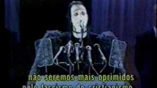 Marilyn Manson - Speech before the 1997 MTV Awards - Subtitled in brazilian portuguese
