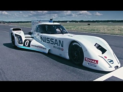Driving Nissan's 750bhp hybrid Le Mans dart-shaped racer | Top Gear