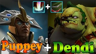 Dota 2 - Dendi Pudge + Puppey Chen Fountain Meat Hook - Natus Vincere vs TongFu - Full Game - #TI3