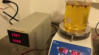 How to produce uncapped nano silver 60 ppm
