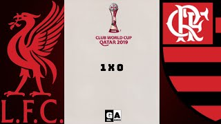 GOL LIVERPOOL 1 X 0 FLAMENGO MUNDIAL DE CLUBES QUATAR 2019 FINAL (NARRAÇÃO)