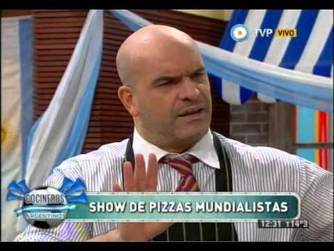 Pizzas mundialistas con Nacho Goano Parte 2