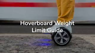 Hoverboard Weight Limit Guide - Which Hoverboard is Right for Me?