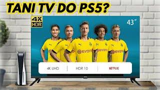 TANI TELEWIZOR DO KONSOLI? ChiQ TV 43 cale Android TV