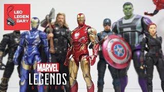 Marvel Legends Endgame Iron Man Mark 85 (LXXXV) Review Stop Motion