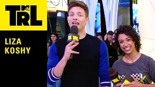 Liza Koshy Plays 'Two Truths & A Lie' w/ Fans | Weekdays at 3:30pm | #TRL