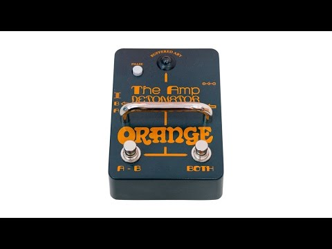 Orange AMP-DETONATOR Buffered AB-Y Switcher Pedal