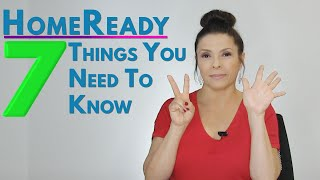 7 things you should know about HomeReady Loans | Laura Borja - Home Loan Expert