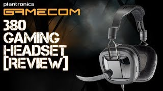Plantronics Gamecom 380 Gaming Headset [Review & Microphone Test]