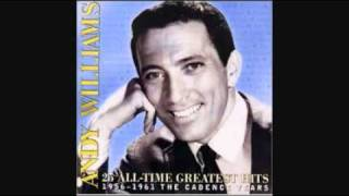 ANDY WILLIAMS - Walk Hand In Hand 1956
