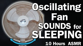 ASMR: 8 HRS. FAN SOUND FOR SLEEP| WHITE NOISE SOOTHING LIGHTS