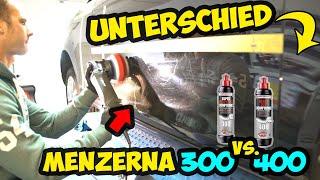 HQS Autopflege - Unterschied zwischen Menzerna 300 und Menzerna 400 Politur