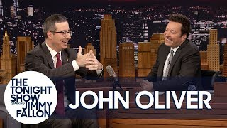John Oliver rates his singing as Zazu for the live-action Lion King, shares his opinions on Barbra Streisand cloning her dogs and explains why she, Mariah Carey and Oprah Winfrey deserve lifetime high-maintenance passes.  Subscribe NOW to The Tonight Show Starring Jimmy Fallon: http://bit.ly/1nwT1aN  Watch The Tonight Show Starring Jimmy Fallon Weeknights 11:35/10:35c Get more Jimmy Fallon:  Follow Jimmy: http://Twitter.com/JimmyFallon Like Jimmy: https://Facebook.com/JimmyFallon  Get more The Tonight Show Starring Jimmy Fallon:  Follow The Tonight Show: http://Twitter.com/FallonTonight Like The Tonight Show: https://Facebook.com/FallonTonight The Tonight Show Tumblr: http://fallontonight.tumblr.com/  Get more NBC:  NBC YouTube: http://bit.ly/1dM1qBH Like NBC: http://Facebook.com/NBC Follow NBC: http://Twitter.com/NBC NBC Tumblr: http://nbctv.tumblr.com/ NBC Google+: https://plus.google.com/+NBC/posts  The Tonight Show Starring Jimmy Fallon features hilarious highlights from the show including: comedy sketches, music parodies, celebrity interviews, ridiculous games, and, of course, Jimmy's Thank You Notes and hashtags! You'll also find behind the scenes videos and other great web exclusives.  John Oliver Got into a Hugging Match with Oprah and Lost http://www.youtube.com/fallontonight
