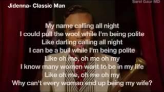Parole de I am a Classic Man-Jiddena