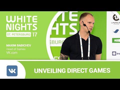 Maxim Babichev (VK.com) - Unveiling Direct Games