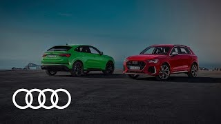 YouTube Video lya_B-T7IvU for Product Audi Q3, RS Q3, Q3 Sportback, & RS Q3 Sportback (2nd gen) by Company Audi in Industry Cars