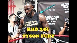 Deontay Wilder Tung Video TẬP LUYỆN Trước Trận Gặp Tyson Fury Khiến Người Hâm Mộ Lo Lắng