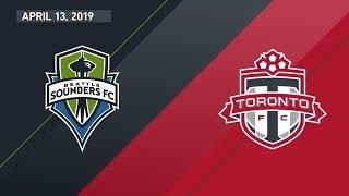 Seattle Sounders FC vs. Toronto FC | HIGHLIGHTS - April 13, 2019
