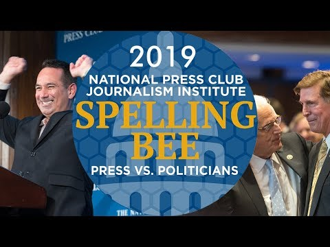 2019 NPC Press vs. Politicians Spelling Bee