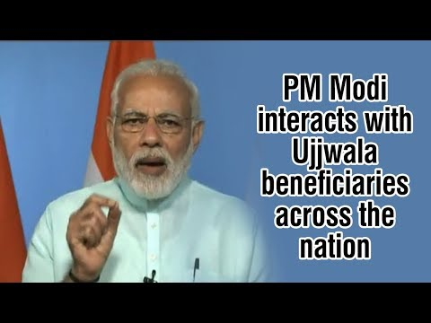 PM interacts with Ujjwala beneficiaries across the country