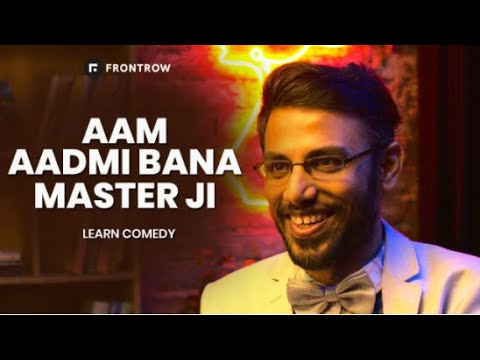 Learn Comedy on FrontRow with Biswa - YouTube