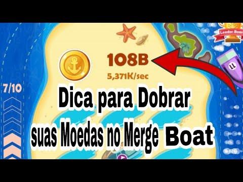 MERGE BOAT - Dica para DOBRAR as moedas RAPIDAMENTE