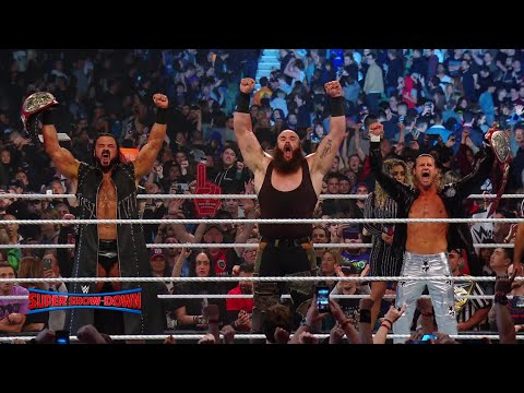 ¡WWE Super Show-Down fue un evento monumental!