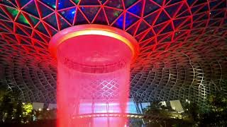 Jewel Changi Airport # ASMR   Finding Peace   World's Tallest Indoor Waterfall 13