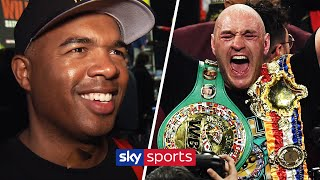 Tyson Fury's trainer Sugarhill Steward reacts to emphatic stoppage win over Deontay Wilder
