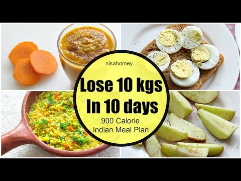 How To Lose Weight Fast 10 kgs in 10 Days – Full Day Indian Diet/Meal Plan For Weight Loss