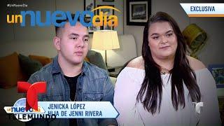 Los Hijos De Jenni Rivera Hablan Sobre Mariposa De Barrio | Un Nuevo Día | Telemundo