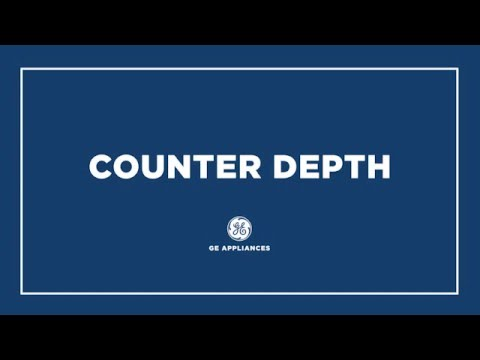 COUNTER DEPTH REFRIGERATORS