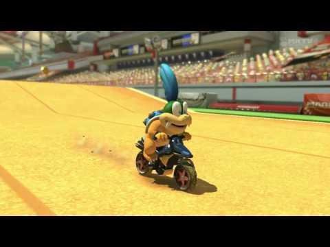 Wii U - Mario Kart 8 - Excitebike Arena
