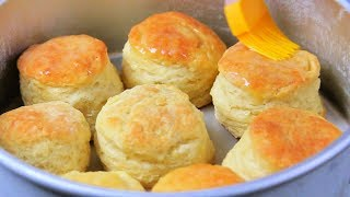 HOW TO MAKE FLUFFY BISCUITS   biscuit mixing method