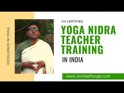 YAI Certified Yoga Nidra Teacher Training Course In India - YouTube