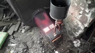 Горелка на отработке 14 кВт
