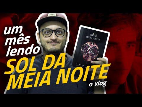 UM MÊS lendo SOL DA MEIA NOITE, o vlog