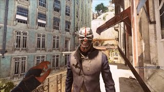 Dishonored 2 Corvo Using Doppelganger & Other Emily Powers Gameplay Part 1(NG+)