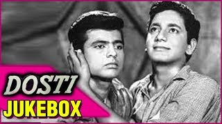 Dosti - Jukebox | Old Hindi Songs | Bollywood Evergreen Hits | Laxmikant Pyarelal  Lata and Rafi