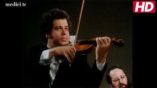 Lawrence Foster with Itzhak Perlman -  Brahms: Violin Concerto in D Major